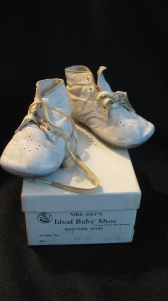 Richard's baby shoes c. late 1940s